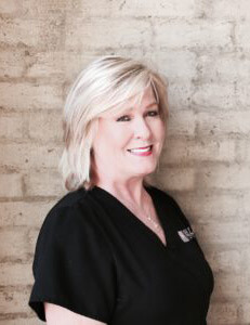 Debbie Trimm, dental hygienist at Hall Cosmetic & Family Dentistry